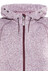 High Colorado Rax-L Strickfleece Hoodie Damen rot melange